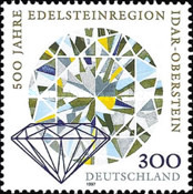 [The 500th Anniversary of Idar-Oberstein Gem-area, type BLU]
