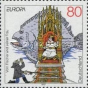 [EUROPA Stamps - Tales and Legends, type BLY]