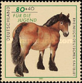[Charity Stamps - Horses, type BMD]