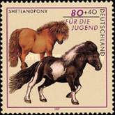[Charity Stamps - Horses, type BME]