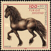 [Charity Stamps - Horses, type BMF]