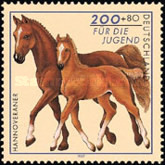 [Charity Stamps - Horses, type BMH]