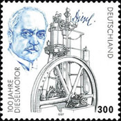 [The 100th Anniversary of the Diesel Engine Invention, type BMZ]
