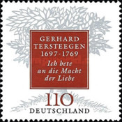 [The 300th Anniversary of the Birth of Gerhard Tersteegen, type BNS]