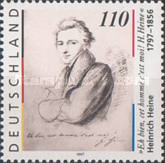 [The 200th Anniversary of the Birth of Heinrich Heine, Poet, type BNT]