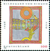 [The 900th Anniversary of the Birth of Hildegard of Bingen, Prioress, Typ BOM]