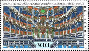 [The 250th Anniversary of the Opera House in Bayreuth, Typ BOO]