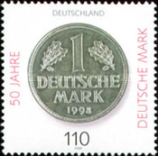 [The 50th Anniversary of the Deutsche Mark, Typ BPB]