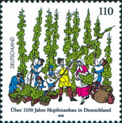 [The 1100th Anniversary of the Hop Growing in Germany, Typ BPE]