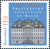 [The 300th Anniversary of the Franken Foundation in Halle, Typ BPQ]