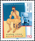 [The 100th Anniversary of the Birth of Manfred Hausmann, Writer, Typ BPR]