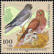 [Charity Stamps - Birds, Typ BPU]