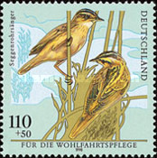 [Charity Stamps - Birds, Typ BPV]