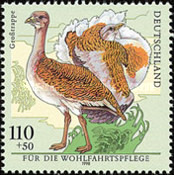 [Charity Stamps - Birds, Typ BPW]