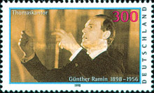 [The 100th Anniversary of the Birth of Günther Ramin, Organist, type BPZ]