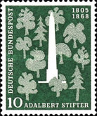 [The 150th Anniversary of the Birth of Adalbert Stifter, Typ BQ]