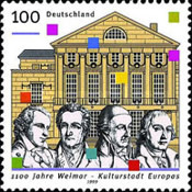 [The 1100th Anniversary of Wiemar - European Capital of Culture 1999, type BQH]