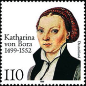 [The 500th Anniversary of the Birth of Katharina von Bora, type BQI]