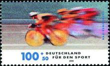 [Charity Stamps - Sports, type BQK]