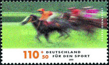 [Charity Stamps - Sports, type BQM]