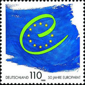 [The 50th Anniversary of the Council of Europe, type BRC]