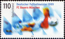 [FC Bayern Munich - German Football Champion 1999, type BSB]