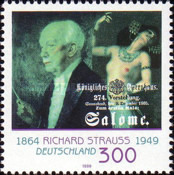 [The 50th Anniversary of the Death Richard Strauss, Composer, type BSD]