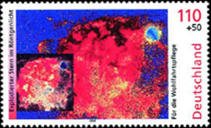 [Charity Stamps - Space, type BSG]