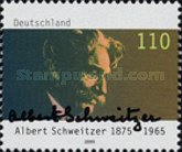 [The 125th Anniversary of the Birth of Albert Schweitzer, 1875-1965, Typ BSR]