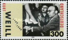 [The 100th Anniversary of the Birth of Kurt Weill, 1900-1950, Typ BTA]