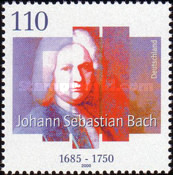 [The 250th Anniversary of the Death of Johann Sebastian Bach, Composer, Typ BUA]