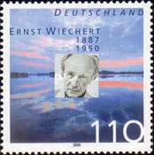 [The 50th Anniversary of the Death of Ernst Wiechert, Typ BUG]
