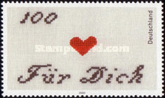 [Greeting Stamp, type BUM]