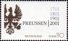 [The 300th Anniversary of the Kingdom of Prussia, type BVK]