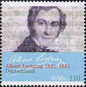 [The 200th Anniversary of the Birth of Albert Lortzig, type BVL]