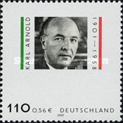 [The 100th Anniversary of the Birth of Karl Arnold, type BVV]