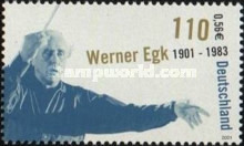 [The 100th Anniversary of the Birth  of Werner Egk, type BWI]