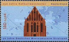 [The 750th Anniversary of the Katharinen Convent, type BWM]