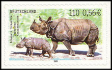 [Endangered Animals - Self-adhesive, type BXC]