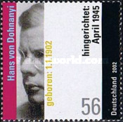 [The 100th Anniversary of the Birth of Hans von Dohnanyi, 1902-1945, type BYC]