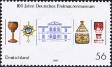 [The 100th Anniversary of the German Masonic Museum, type BYP]