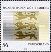 [The 50th Anniversary of Baden-Wuerttemberg, type BYQ]