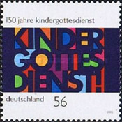 [The 150th Anniversary of German Sunday School, type BYX]