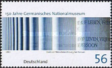 [The 150th Anniversary of the German National Museum in Nuremberg, type BZK]