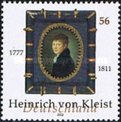 [The 225th Anniversary of the Birth of Heinrich von Kleist, 1777-1811, type BZW]