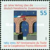 [The 40th Anniversary of the Franco-German Cooperation Treaty, type CAW]