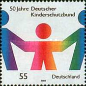 [The 50th Anniversary of the German Child Care Agency, type CBR]