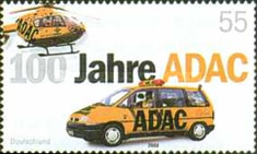 [The 100th Anniversary of German Automobile Club ADAC, type CBY]