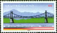 [The 100th Anniversary of the Opening of the Salzach-Bridge, type CCD]