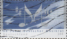 [The 50th Anniversary of the German Music Council, type CCE1]